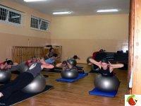 Tym razem tematyką zajęć Fitness były ćwiczenia z serii FitBall.