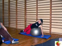 Fitball w Klubie Sportowym Boruta.