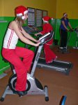 ...najwytrwalsi kontynuowali Mikołajkowe poczynania na siłowni.